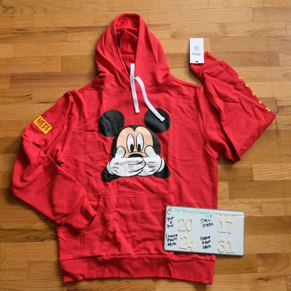 Neff Other - Men's Disney x Neff Pullover Hoodie Sz Small
